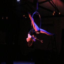 Cirque Nocturne-Adelaide Cabaret Fringe 2016. Photography by Hannah Tunstill. Venue: Rob Roy Hotel, Adelaide
