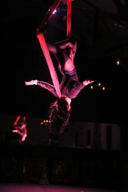 Cirque Nocturne-Adelaide Cabaret Fringe 2016. Photography by Hannah Tunstill. Venue: Rob Roy Hotel, Adelaide
